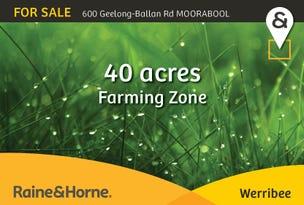 600 GEELONG-BALLAN ROAD, Moorabool, Vic 3213