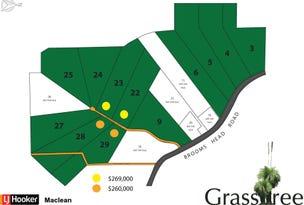 22, 23, 28 & 29 Grasstree Drive, Taloumbi, NSW 2463