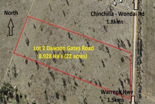 Lot 1, 22 ACRES - Lot 2 Dawson Gates Road, Chinchilla, Qld 4413