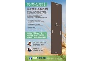 Lot 15 Hayman Road, Lewiston, SA 5501