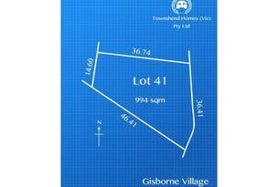 Lot 41, The Boomerang, Gisborne, Vic 3437