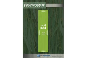 Lot 4, 34 Germantown Road, Lewiston, SA 5501