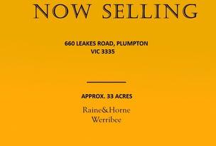 660 leakes road, Plumpton, Vic 3335