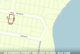 24  OOMOOL Street, Macleay Island, Qld 4184
