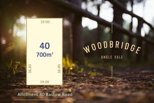 Lot 40 Bastow Road, Angle Vale, SA 5117