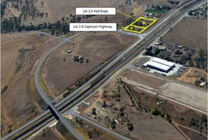 Lot 1 & Lot 2 Capricorn Highway & Hall Road, Gracemere, Qld 4702