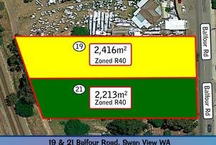 19 & 21 Balfour Road, Swan View, WA 6056
