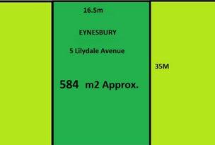 5 Lilydale Avenue, Eynesbury, Vic 3338