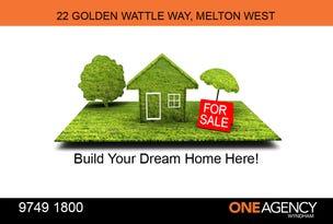 22 Golden Wattle Way, Melton West, Vic 3337