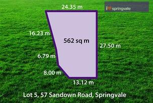 1 (Lot 5) Moishe Circuit, Springvale, Vic 3171