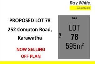 Lot 78, 252 Compton Road, Karawatha, Qld 4117