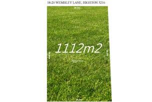 18-20 Wembley Lane, Highton, Vic 3216