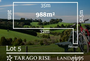 Lot 5/Lot 5 Red Hill Court, Neerim South, Vic 3831