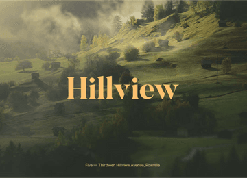 Hillview Rowville