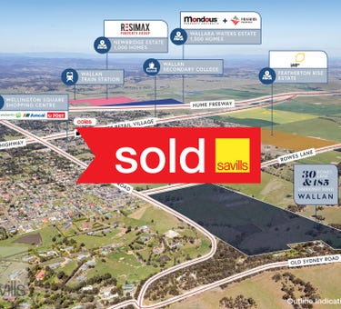 30 Rowes Lane & 185 Darraweit Road, Wallan, Vic 3756