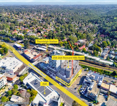 Retail Areas, 258-264 Pennant Hills Road, Thornleigh, NSW 2120