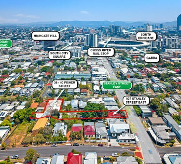 38-40 Fisher Street & 927 Stanley Street East, East Brisbane, Qld 4169