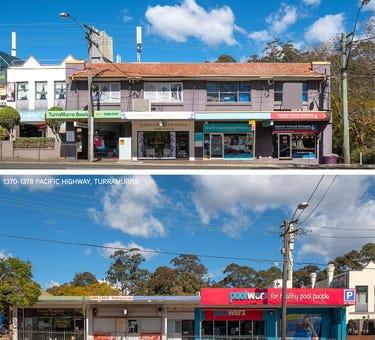 1370-1378 & 1390-1396 Pacific Highway, Turramurra, NSW 2074
