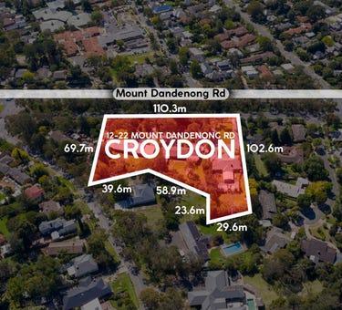 12 - 22 Mount Dandenong Road, Croydon, Vic 3136