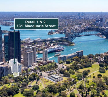 Retail 1 & 2, 131 Macquarie Street, Sydney, NSW 2000