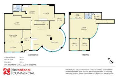 The Precinct A, 6/14 Browning Street West End QLD 4101 - Floor Plan 1