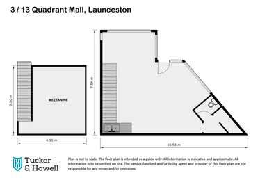 3/13 Quadrant Mall Launceston TAS 7250 - Floor Plan 1