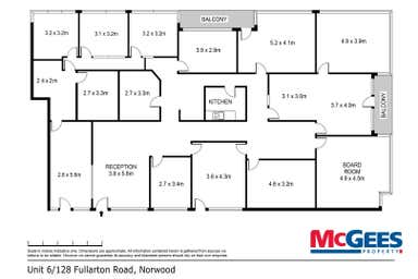 6/128 Fullarton Road Norwood SA 5067 - Floor Plan 1