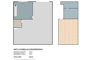 Unit 5, 21 Babilla Close Beresfield NSW 2322 - Floor Plan 1