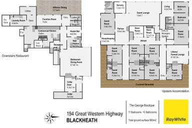THE GEORGE BOUTIQUE HOTEL, 194 Great Western Highway Blackheath NSW 2785 - Floor Plan 1