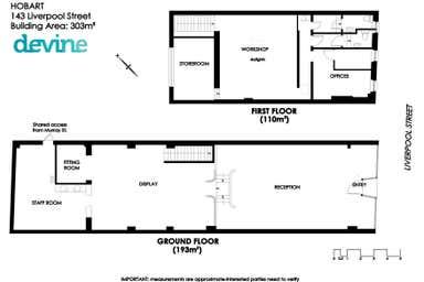 143 Liverpool Street Hobart TAS 7000 - Floor Plan 1