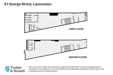 67 George Street Launceston TAS 7250 - Floor Plan 1