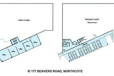 6/177-181 Beavers Road Northcote VIC 3070 - Floor Plan 1