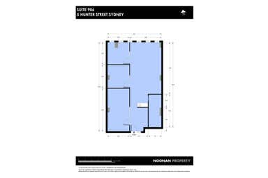LEDA House, 906/5 Hunter Street Sydney NSW 2000 - Floor Plan 1