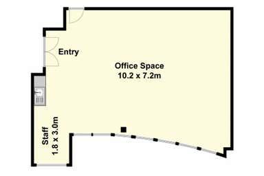1st Floor/182 Latrobe Terrace Geelong West VIC 3218 - Floor Plan 1