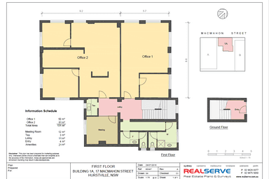 Level 1, 17 MacMahon Street Hurstville NSW 2220 - Floor Plan 1