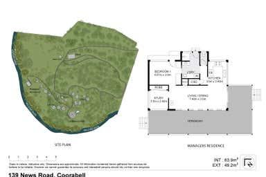 Exclusive 66-acre Retreat, 139 Newes Road Coorabell NSW 2479 - Floor Plan 1