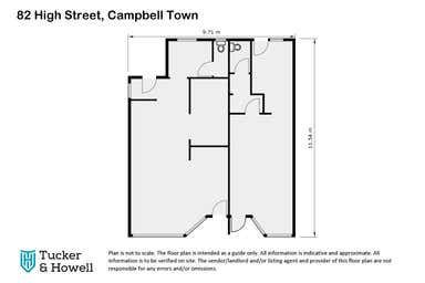 82 High Street Campbell Town TAS 7210 - Floor Plan 1