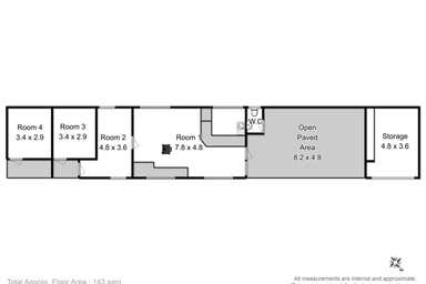 Kingston TAS 7050 - Floor Plan 1