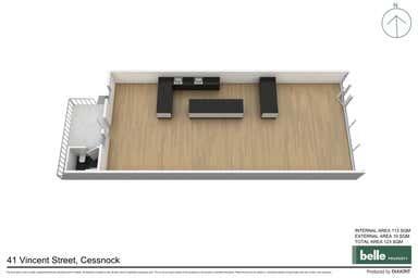 41 Vincent Street Cessnock NSW 2325 - Floor Plan 1