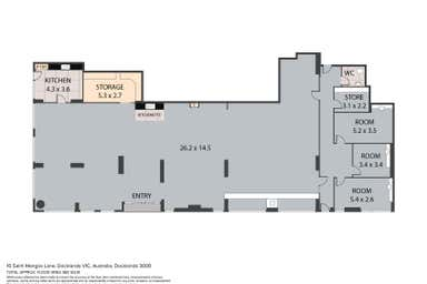 16 Saint Mangos Lane Docklands VIC 3008 - Floor Plan 1