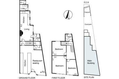 208 Tyler Street Preston VIC 3072 - Floor Plan 1