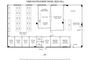 1/899 Whitehorse Road Box Hill VIC 3128 - Floor Plan 1