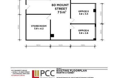 80 Mount Street North Sydney NSW 2060 - Floor Plan 1