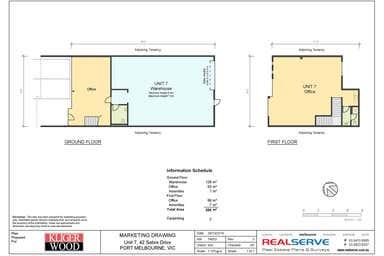 7/42 Sabre Drive Port Melbourne VIC 3207 - Floor Plan 1