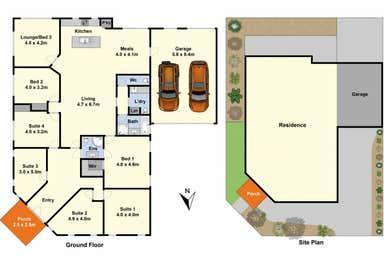 309 Torquay Road Grovedale VIC 3216 - Floor Plan 1