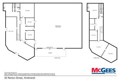 20 Manton Street Hindmarsh SA 5007 - Floor Plan 1