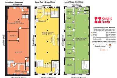 27 Hindmarsh Square Adelaide SA 5000 - Floor Plan 1