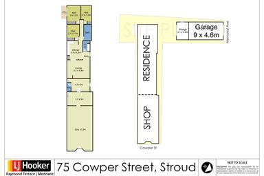 75 Cowper Street Stroud NSW 2425 - Floor Plan 1