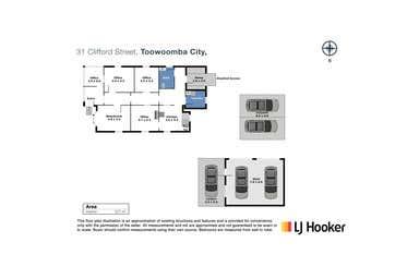 31 Clifford Street Toowoomba City QLD 4350 - Floor Plan 1