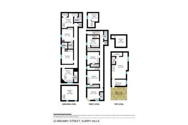 23 Brumby Street Surry Hills NSW 2010 - Floor Plan 1